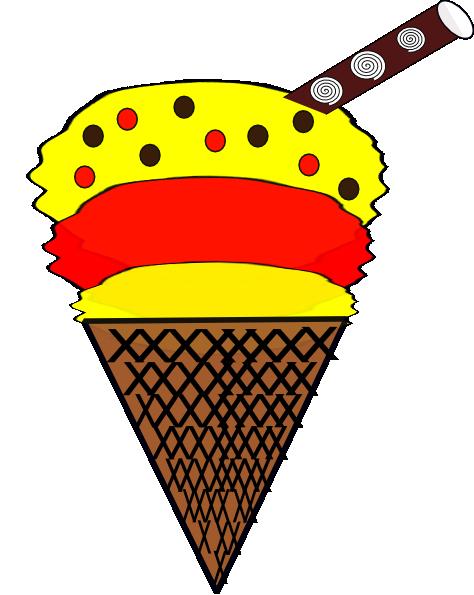 free clipart of snow cones - photo #19