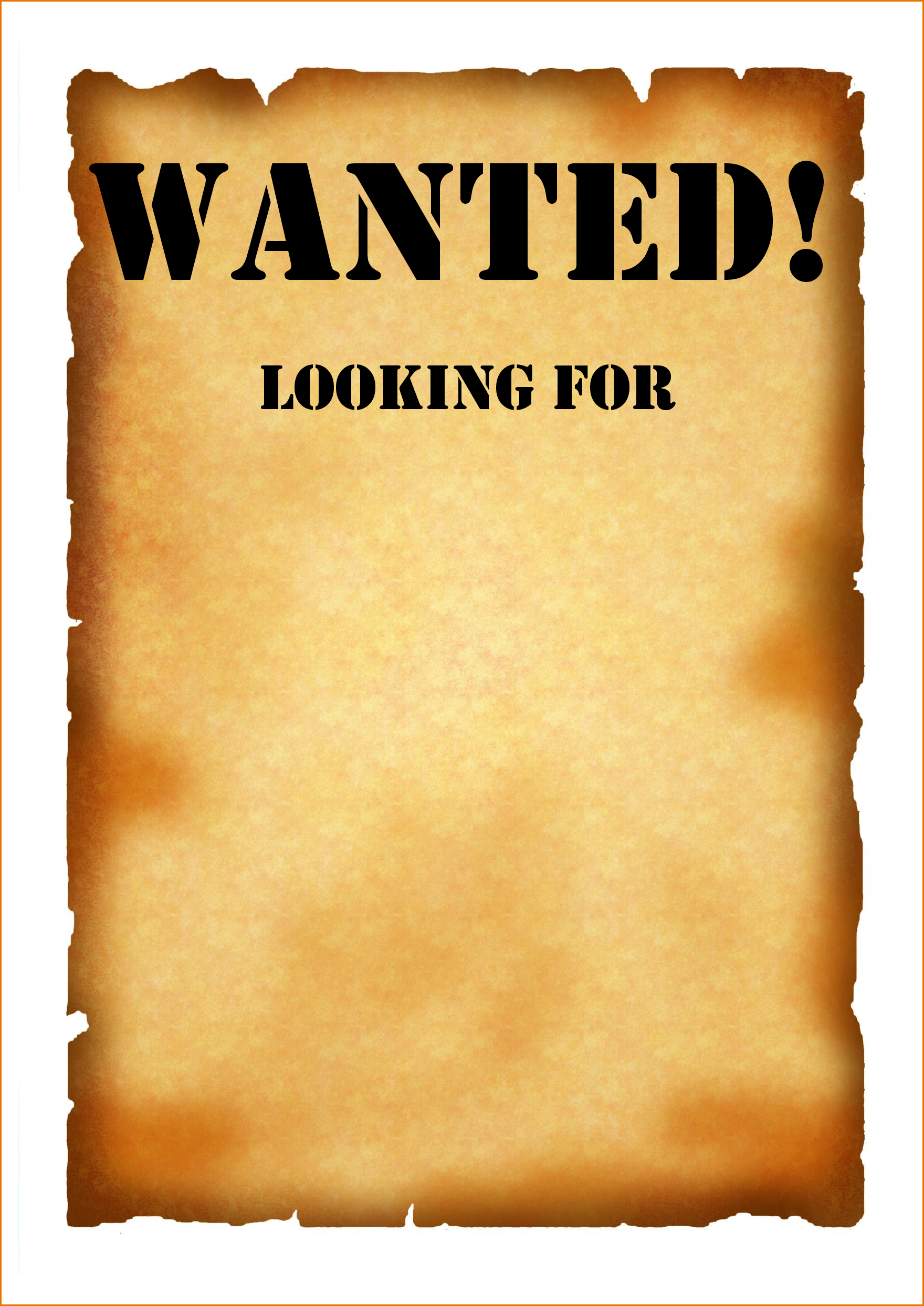 clip art wanted poster clipart best