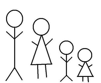 stick figure family | Jillsy's Blog