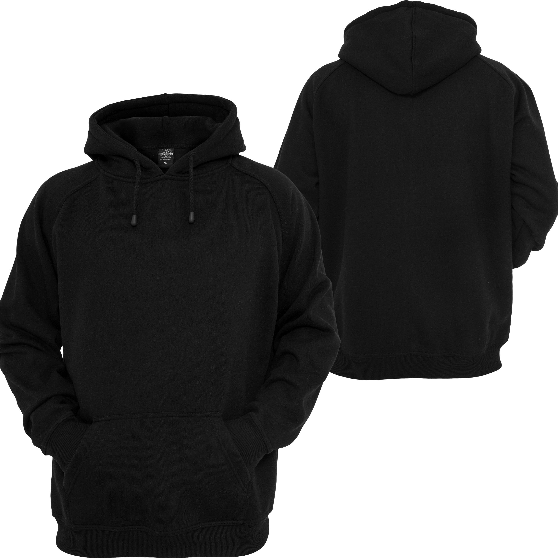 Blank Black Hoodie | Fashion Ql
