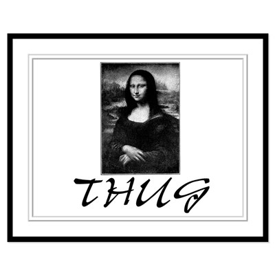 Mona lisa black and white print clipart best for Can you buy the mona lisa