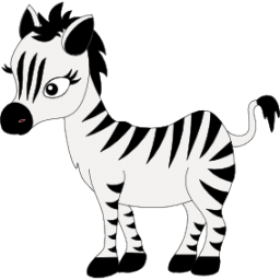 zebra baby clipart - photo #20