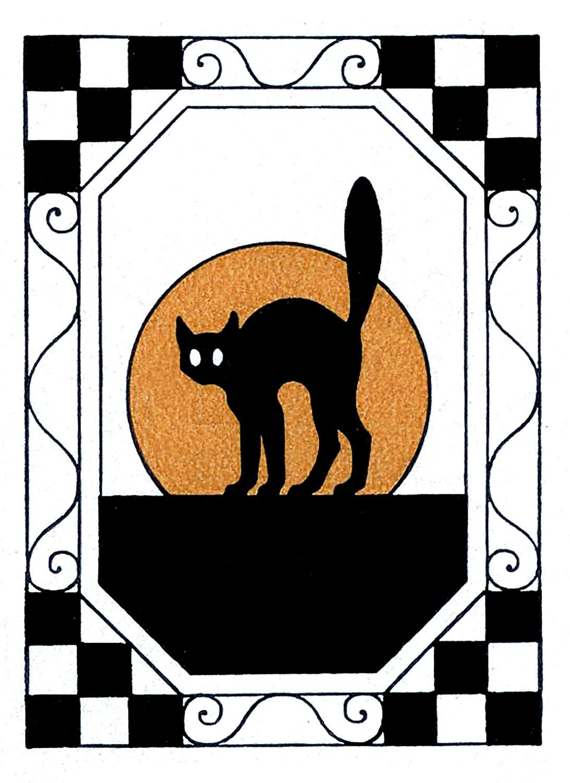 clipart halloween cat - photo #41