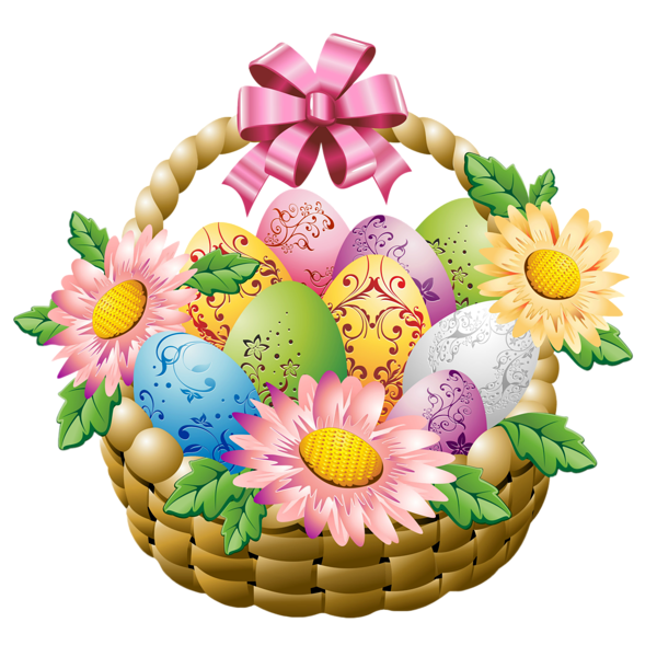 clip art for easter baskets - photo #48