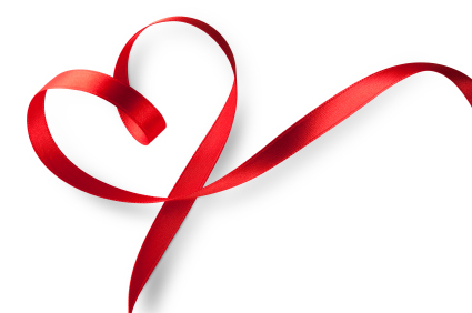 Drawings Of Hearts With Ribbons Clipart Best