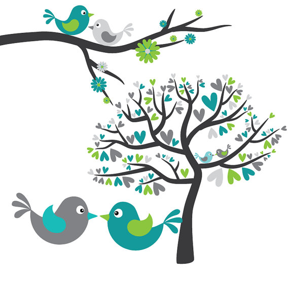 Love bird clip art - photo#5