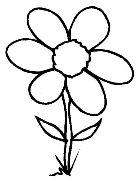 watering flowers coloring pages - photo#34