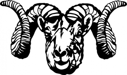 Download Dall Sheep Ram clip art Vector Free