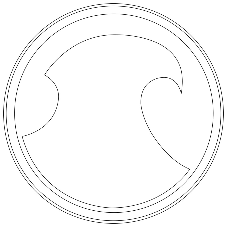 Batman Logo With Outline T Shirt Close Up