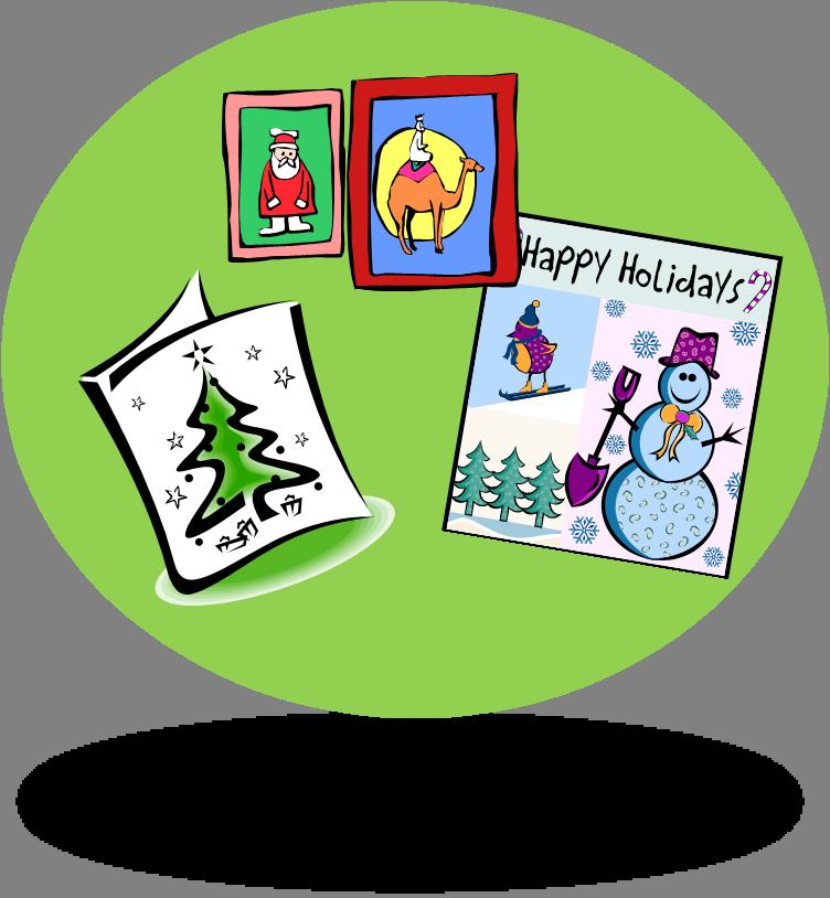 Clip Art Christmas Cards - ClipArt Best