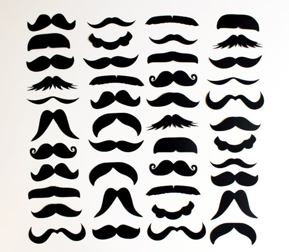 Free mustache template clipart best for Mustach template