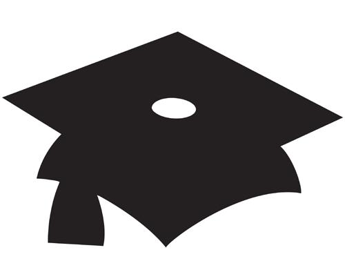 graduation cap cutouts clipart best. Black Bedroom Furniture Sets. Home Design Ideas