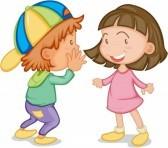 children speaking clip art - photo #30