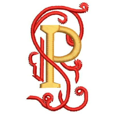 P Alphabet Design Our Shops Product - Yebook Alphabet Letter P Embroidery Design ...