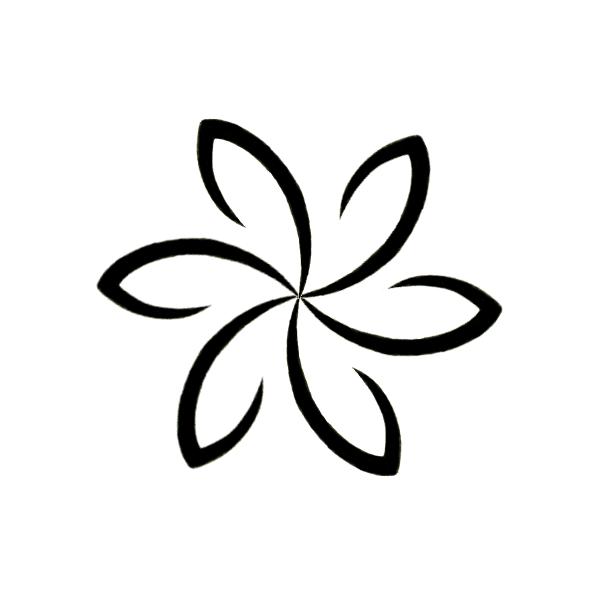 Tribal Flower Clipart Best