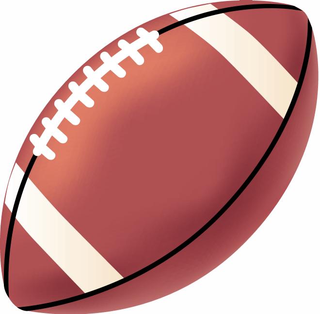animated clip art of football - photo #33