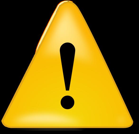Caution Icon - ClipArt Best