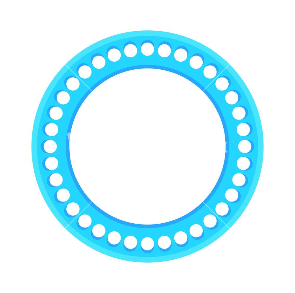 Amazoncom LianSan Classic Metal Frame Round Circle
