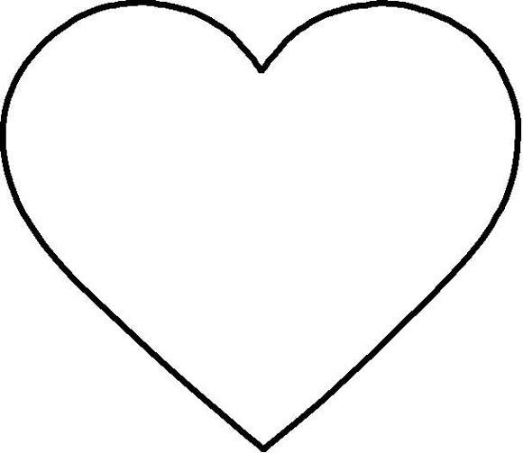 how to cut a love heart