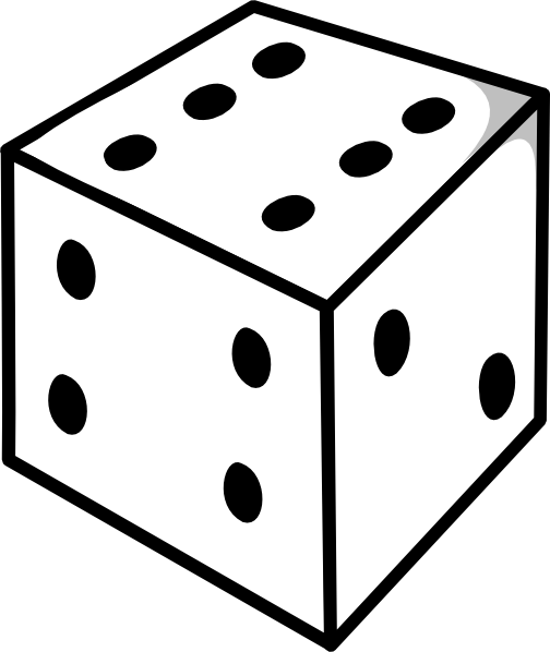 Declarative image in printable dice