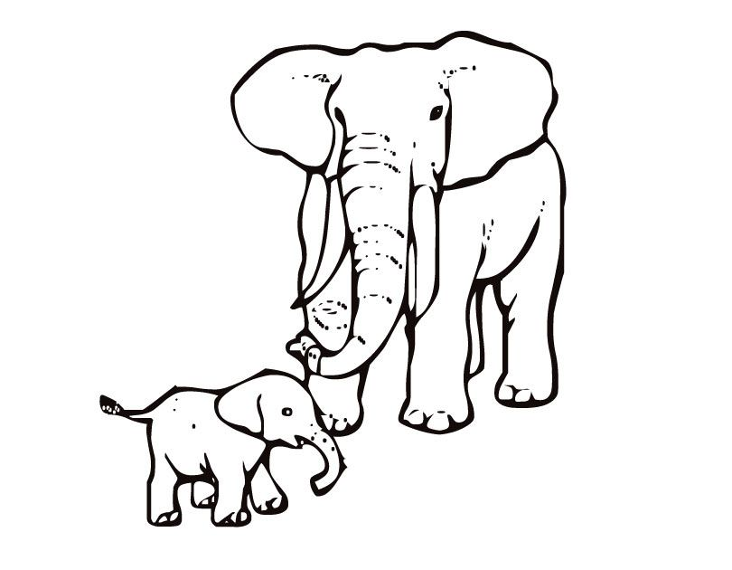 elmer the elephant coloring pages - photo#36