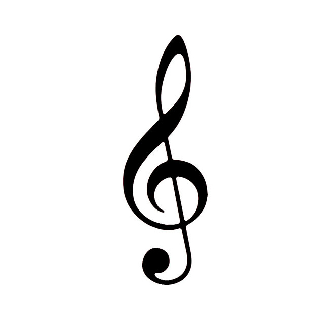 Eloquent image intended for printable music notes symbols