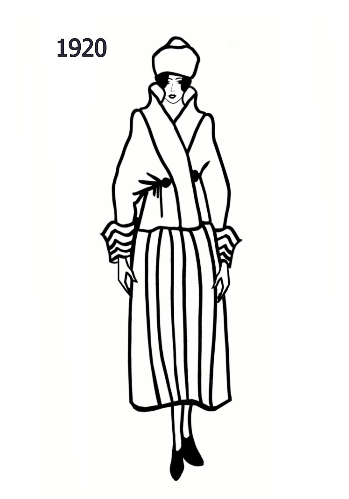 1920s Woman Drawings 26 Line Drawings of Women