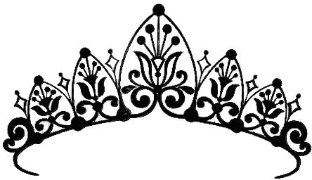 Princess Crown Drawings - ClipArt - 25.7KB