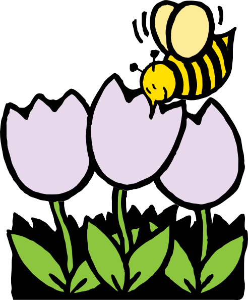 Bee And Flower Clipart - Health Wallpaper - Health Wallpaper - ClipArt ...