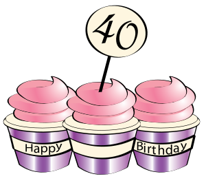 4oth Birthday Part Clipart Free - ClipArt Best