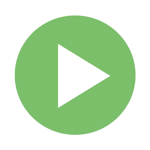 Moth green video play icon - Free moth green video play icons ...
