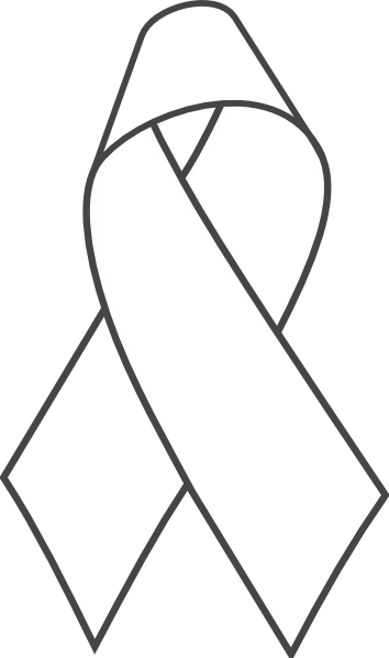 White Awareness Ribbon Vector | www.imgkid.com - The Image ...