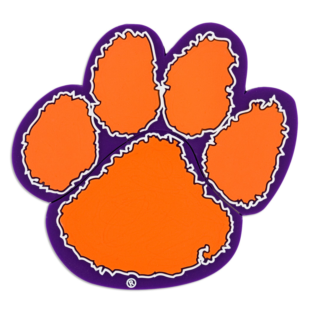 tiger paw template - tigers paw print clipart best