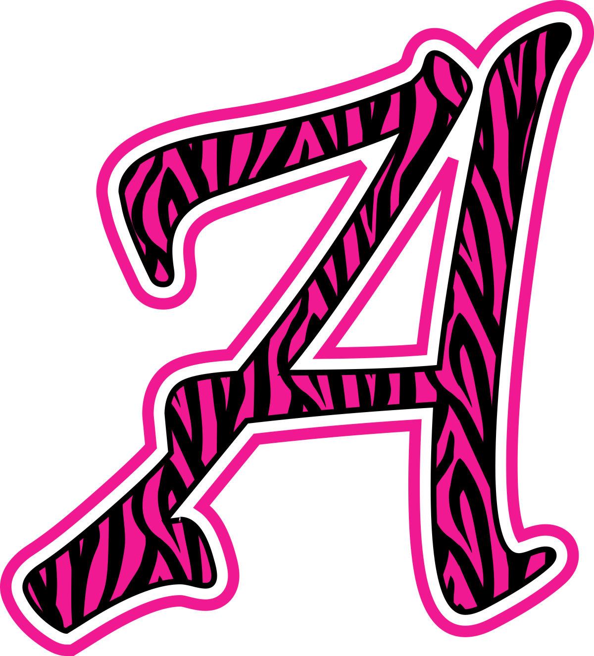 Pink Zebra Print Clipart Best