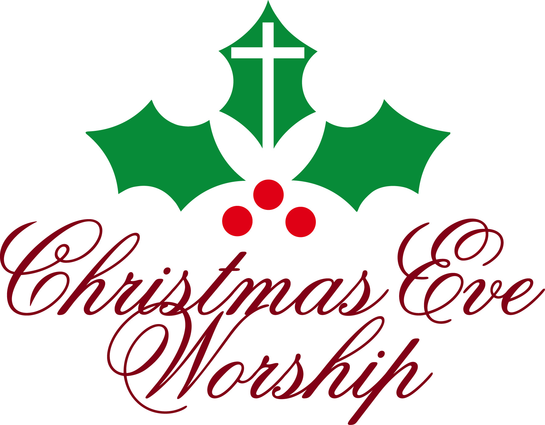christmas eve service clipart - photo #1