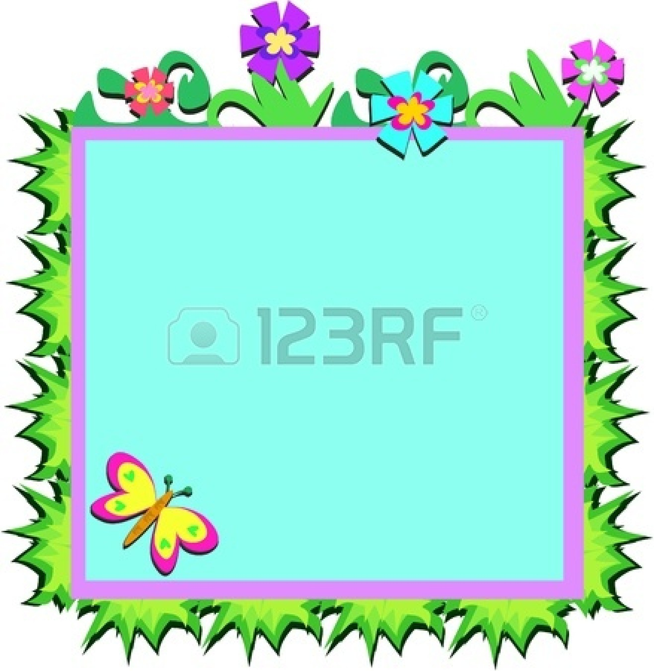 36 flower borders and frames . Free cliparts that you can download to ...
