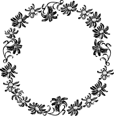 Black And White Borders And Frames Clip Art