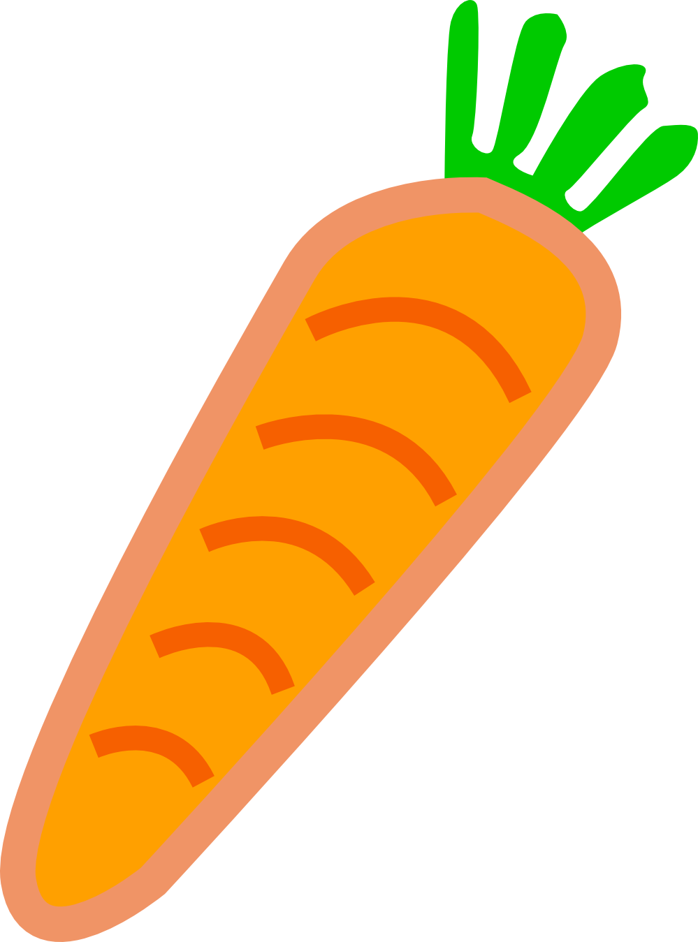Clip Art: Carrot Redonkulous clipartist.net Art ... - ClipArt Best ...