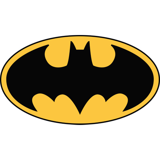 Batman Logo Wall Decal | Shop Fathead® for Batman Decor Batman Logo ...
