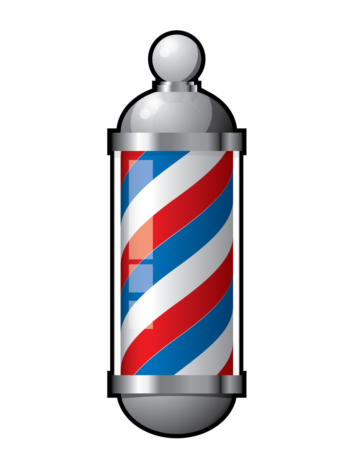 barber logos clipart best