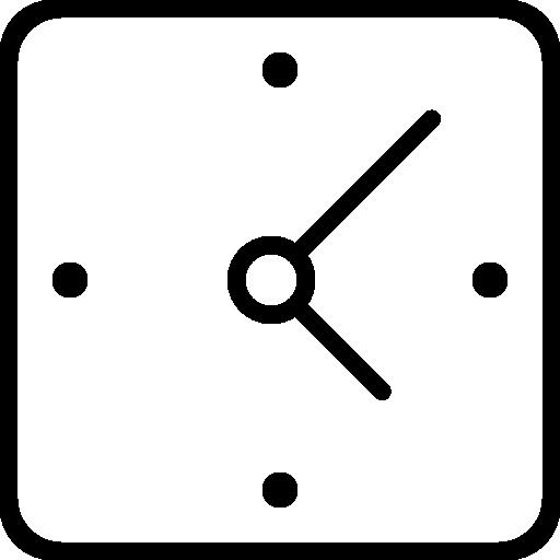 clock square png