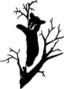 Tree Silhouette Stencil Clipart Best