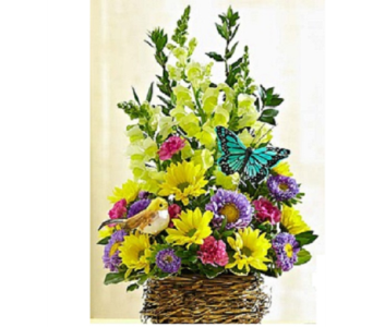 Flowers Basket - ClipArt Best