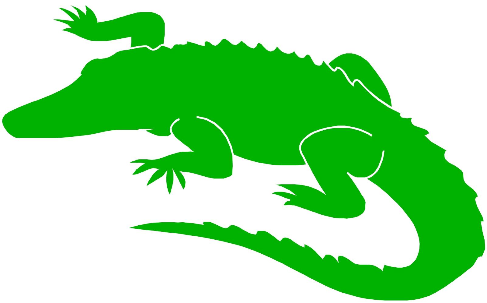 free animated alligator clipart - photo #7