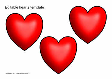 Heart Stencil Template - ClipArt Best