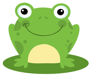 ... Cartoon Frog Sitting on a Lily Pad - ClipArt Best - ClipArt Best
