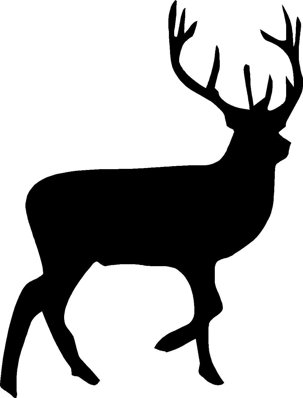 buck silhouette clipart best buck clip art black white buck clipart sign