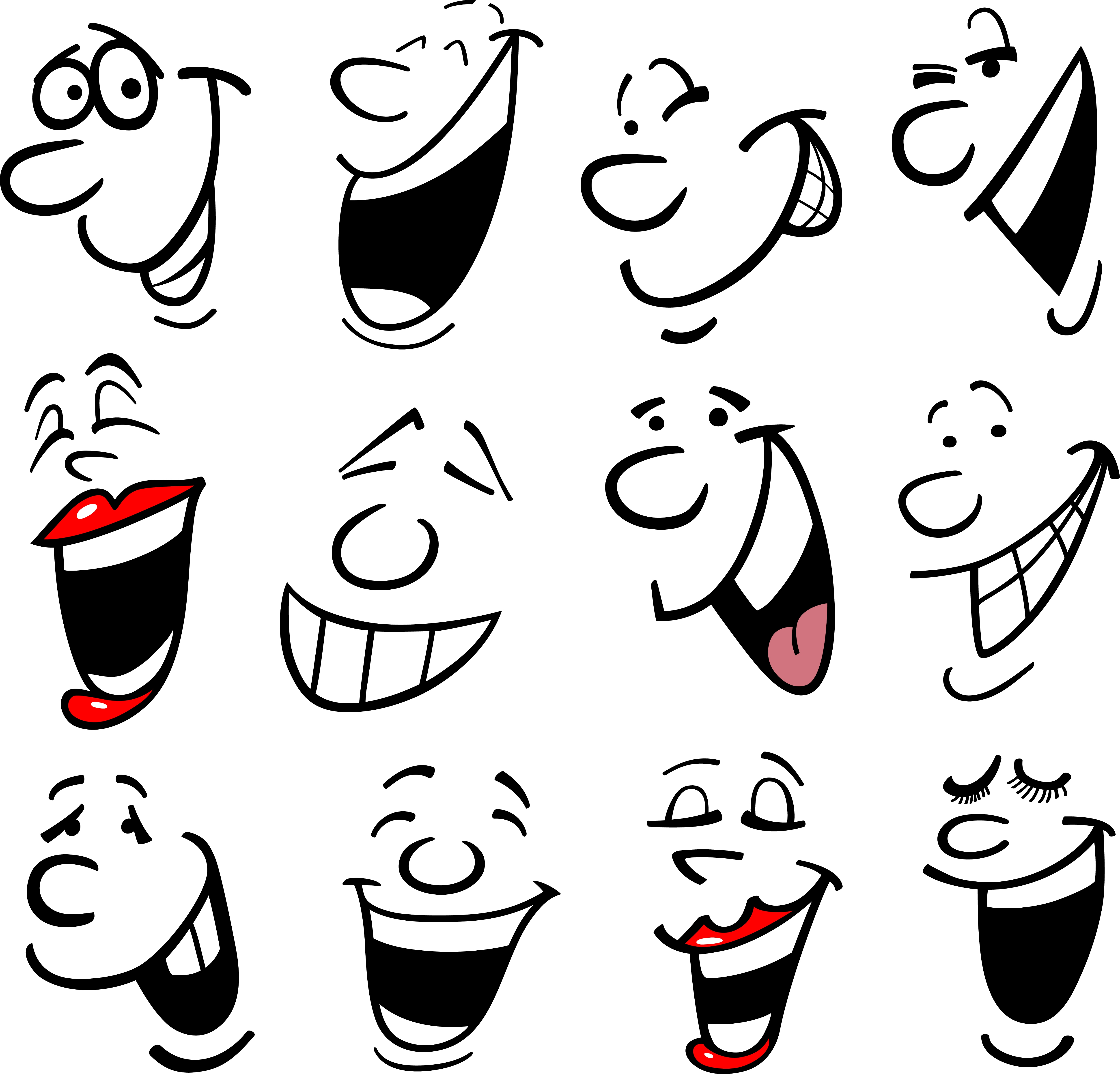 laughing faces cartoon - photo #23