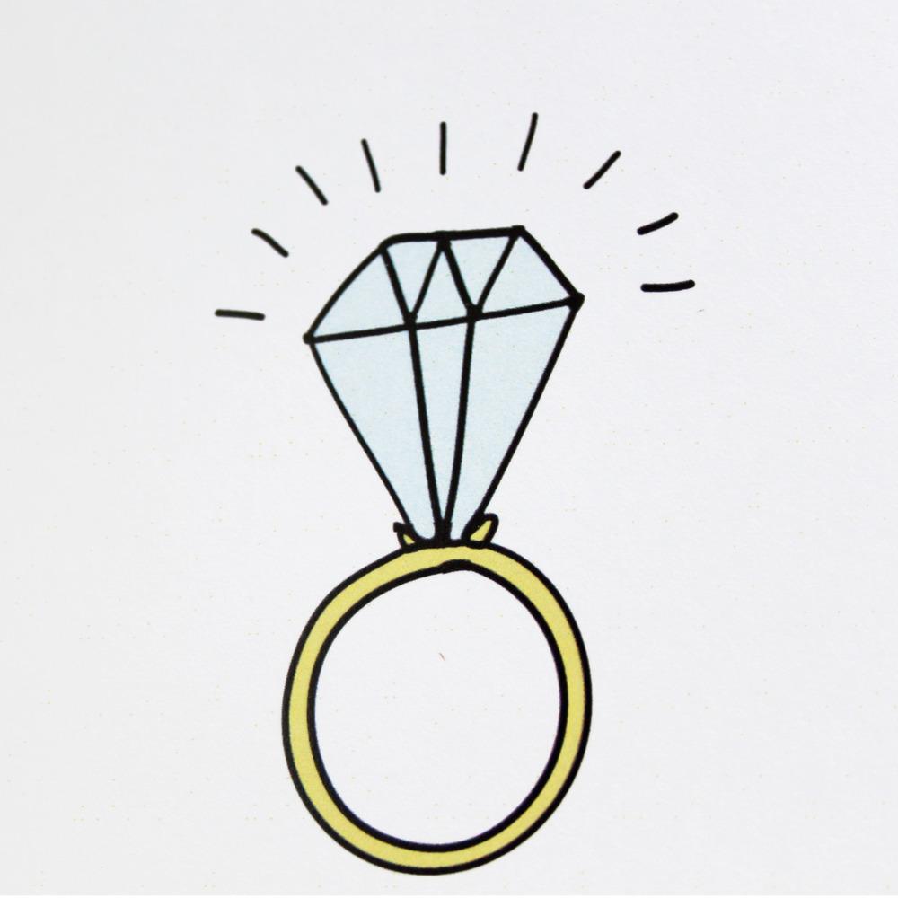 Wedding Ring Illustration - ClipArt Best