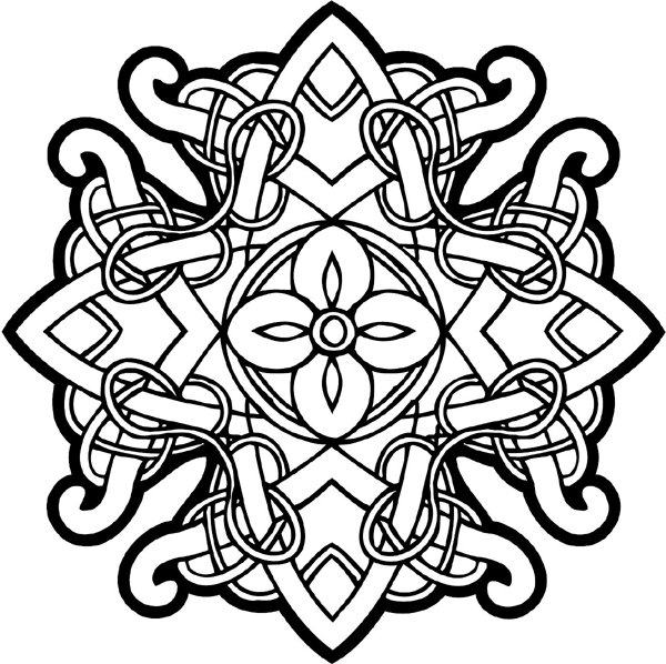 Free printable celtic cross coloring pages clipart best for Celtic coloring pages printable